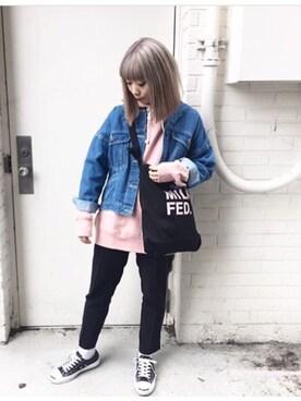 MILKFED.新宿|田代綾美さんのコーディネート