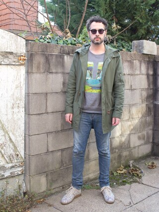 (Alpha Industries) using this Mason Krane looks