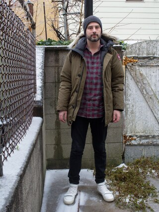 (CANADA GOOSE) using this Mason Krane looks