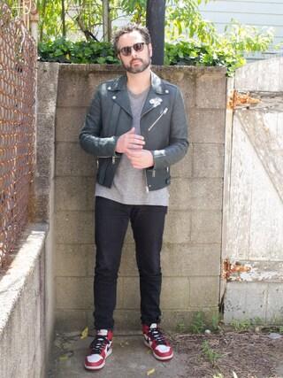「JOHN ELLIOTT+CO クルーネックTシャツ MERCER TEE(JOHN ELLIOTT+CO)」 using this Mason Krane looks