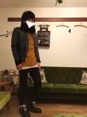 Fuyuさんの「April77/JOEY DOOM(April77 エイプリルセブンティセブン)」を使ったコーディネート