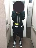 「Rick Owens Drop-Crotch Cotton Shorts(Rick Owens)」 using this にっしー looks
