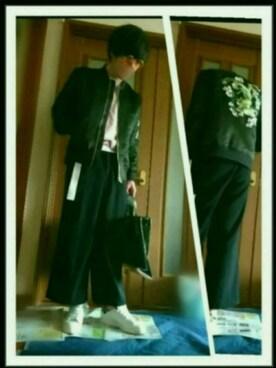 TATSUYAさんの(adidas|アディダス)を使ったコーディネート