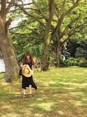 「MILLER SANDAL(TORY BURCH)」 using this Nakamura Kaori looks