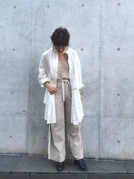 Kastane 名古屋店|Yoshida Aoiさんの「ニットビスチェ(Kastane|カスタネ)」を使ったコーディネート