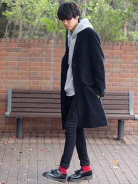 【コート別】おすすめパーカーコートのコーデ&着こなすポイント メンズ・レディース