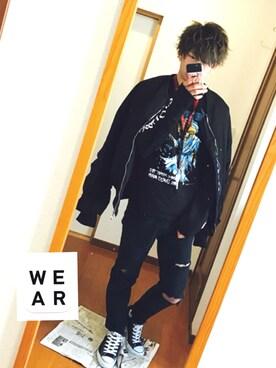 ✂︎田中海斗✂︎さんの(no brand|ノーブランド)を使ったコーディネート