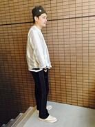 達磨仁さんの「LABRAT / 別注 ビッグシルエット Tシャツ 16SS(BEAMS T|ビームスティー)」を使ったコーディネート