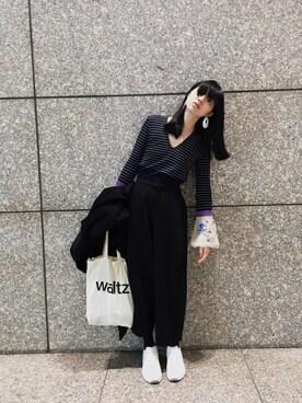 小谷実由さんの(mame|マメ)を使ったコーディネート