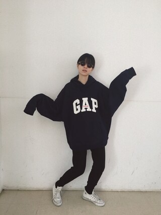 「Overwash knit pants(BLACK BY MOUSSY)」 using this 小谷実由 looks