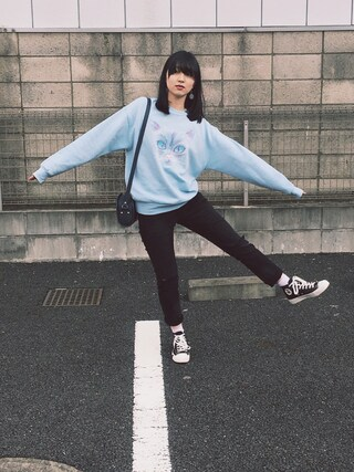 「SAC DEMI LUNE 17P(A.P.C.)」 using this 小谷実由 looks