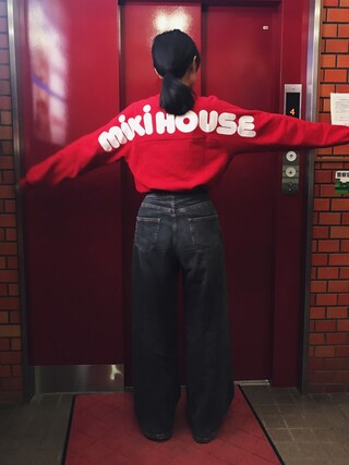 (mikihouse) using this 小谷実由 looks