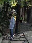 T3PPEIさんの「【KOMONO】「KOMONO×WHO'S WHO gallery」コラボウォッチ(KOMONO.|コモノ)」を使ったコーディネート