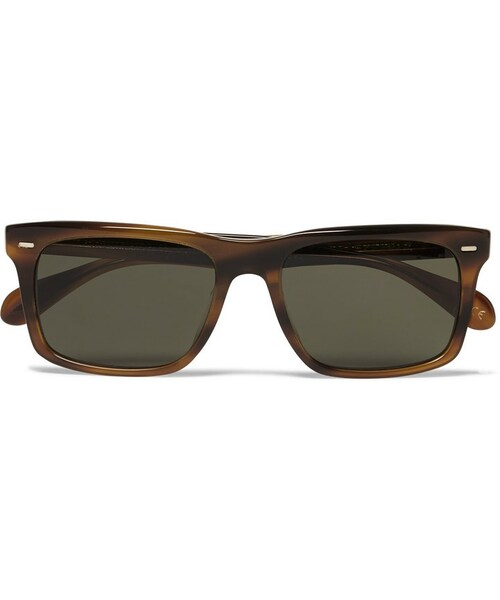 59cfab676b 「Oliver Peoples Brodsky Square-Frame Acetate Polarised Sunglasses」