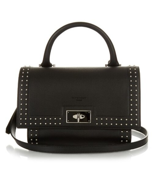 7c44770a3185 Givenchy(ジバンシィ)の「GIVENCHY Mini Shark stud-trim leather ...