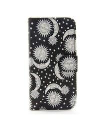 STORES.jp(ストアーズドットジェーピー)の「Star&Moon iPhoneブックケース(モバイルケース/カバー)」