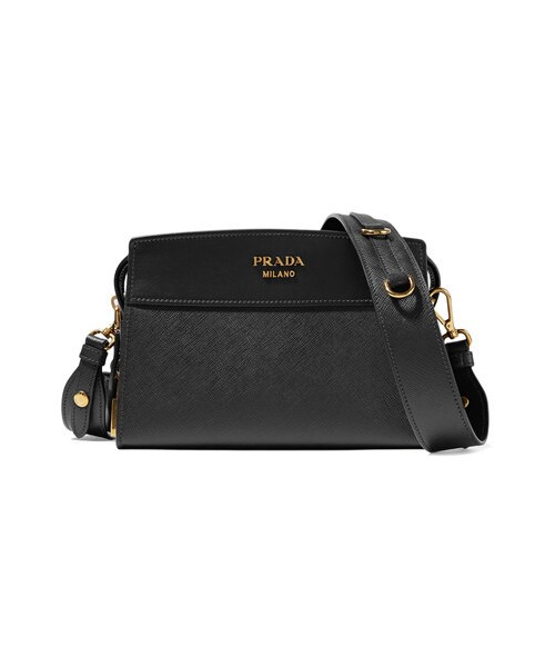 9015e30b5d Prada,Prada - Esplanade Small Textured-leather Shoulder Bag - Black ...