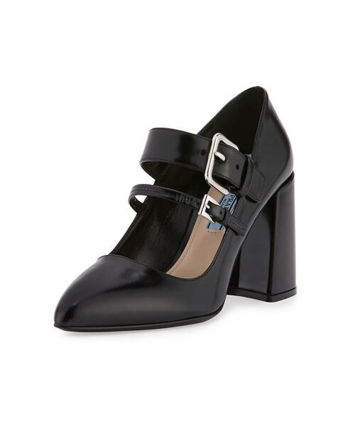 Wear Two Jane PumpBlack prada 85mm Band Mary Prada xrWCoedB
