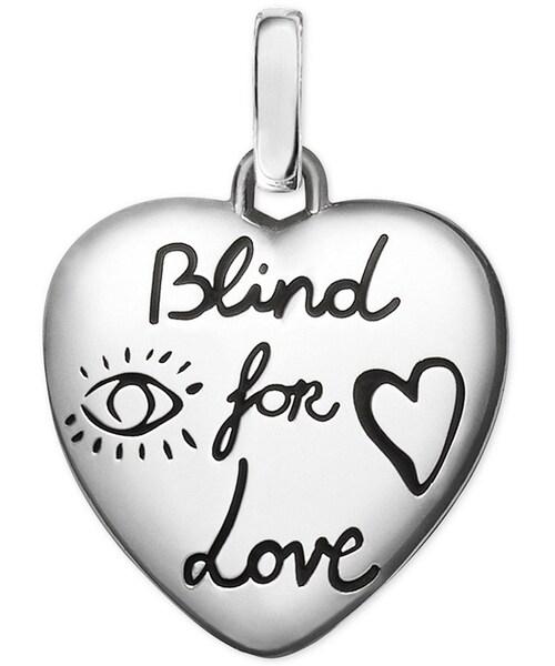 ad7e041216b Gucci,Gucci Women's Blind for Love Sterling Silver Heart Charm  YBG45527400100U - WEAR