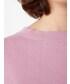 「袖刺繍スリット入りプルオーバー」