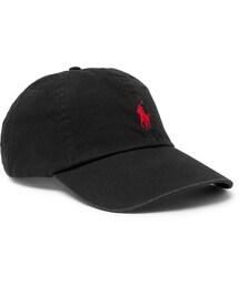 Polo Ralph Lauren(ポロラルフローレン)の「Polo Ralph Lauren Cotton-Twill Baseball Cap(帽子)」