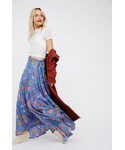 "Spell & The Gypsy Collective Skirt ""Spell & the Gypsy Collective Womens LOVEBIRD HALF MOON MAXI"""