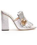 Gucci「GUCCI Marmont fringed leather sandals(Other Shoes)」