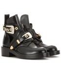 Balenciaga | Balenciaga Ceinture Leather Derby Boots(Boots)