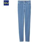 GU(ジーユー)の「(GU)ハイウエストスキニージーンズ BLUE S(デニムパンツ)」