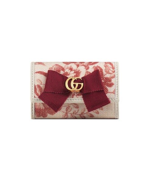 7f52b9ea32fc Gucci(グッチ)の「〔GG リボン〕日本限定 キーケース(リング)」 - WEAR
