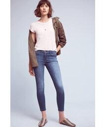 Current/Elliott「Current/Elliott Stiletto Mid-Rise Ankle Jeans(Denim pants)」