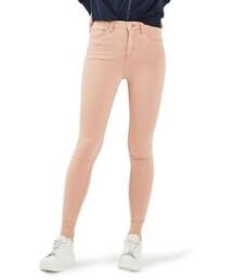 Topshop「Women's Topshop Jamie Raw Hem Skinny Jeans(Denim pants)」