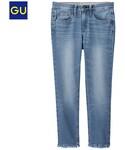 GU(ジーユー)の「(GU)カットオフジーンズ BLUE 58(デニムパンツ)」