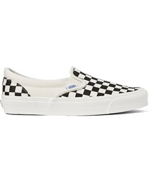 Vans「Vans OG Classic LX Checked Canvas Slip-On Sneakers(Other Shoes)」