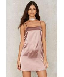 Glamorous「Glamorous Lina Satin Slip Dress(One piece dress)」