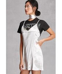 FOREVER 21「FOREVER 21+ Reverse Choker Slip Dress(One piece dress)」