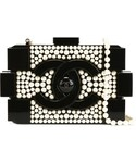 CHANEL「Chanel Vintage 'Brick' pearl clutch(Clutch)」