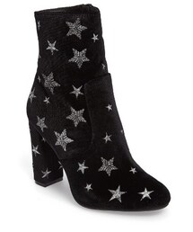 Steve Madden「Women's Steve Madden Edit Embroidered Star Bootie(Boots)」