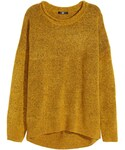 H&M「H&M - Knit Sweater - Mustard yellow melange - Ladies(Knitwear)」