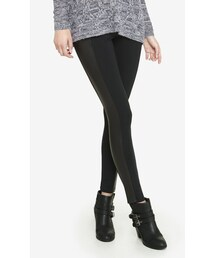EXPRESS「Textured Scuba Side Panel Legging(Leggings)」