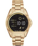 MICHAEL KORS「Michael Kors Access Unisex Digital Bradshaw Gold-Tone Stainless Steel Bracelet Smartwatch 45mm MKT5001(Watch)」