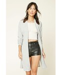 FOREVER 21「FOREVER 21+ Marled Open-Front Cardigan(Cardigan)」
