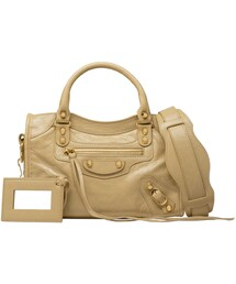 BALENCIAGA「Classic Gold Mini City(Tote)」