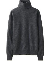 UNIQLO「Women Cashmere Turtleneck Sweater(Knitwear)」