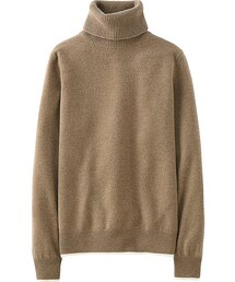 UNIQLO「Women Cashmere Turtleneck Sweater(Knitwear)」