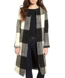 Tularosa「Women's Tularosa Check Oversize Coat(Outerwear)」