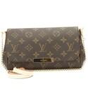 LOUIS VUITTON「Louis Vuitton Monogram  Favorite Clutch PM Bag (Authentic Pre Owned)(Clutch)」