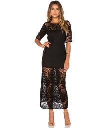 For Love & Lemons「For Love & Lemons Gracey Midi Dress(One piece dress)」