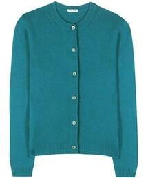 miu miu「Miu Miu Cashmere Knitted Cardigan(Cardigan)」