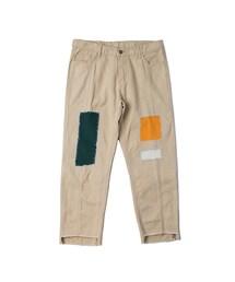 RMTC(ロマンティッククラウン)の「Patchwork Cutting Pants_Beige(その他)」